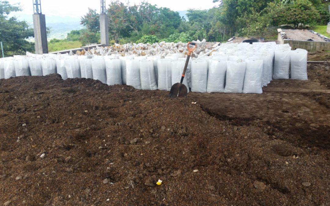 FLOR DEL PINO, elabora y entrega abonos orgánicos a sus productores!